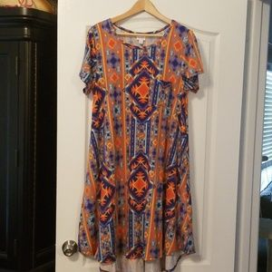 LuLaRoe Carly Dress L